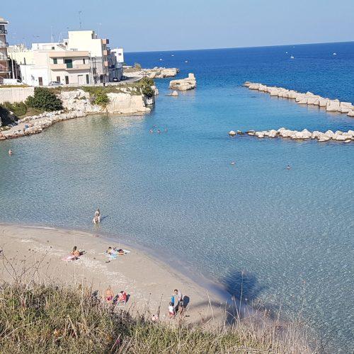 La spiaggia di Otranto