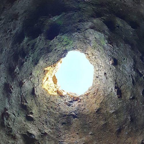 L'interno del Pagliarone