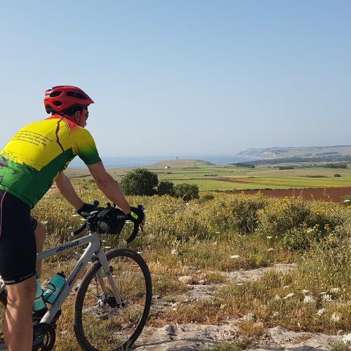 Il punto panoramico dopo Otranto