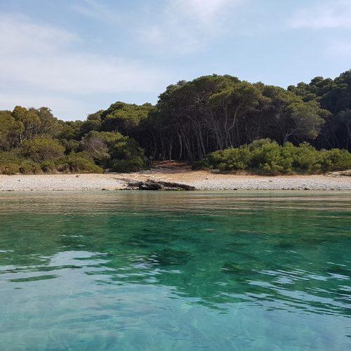 La spiaggia di Porto Selvaggio