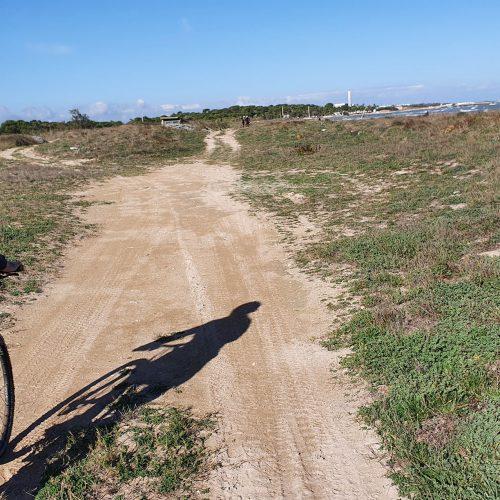 Il sentiero verso Frigole