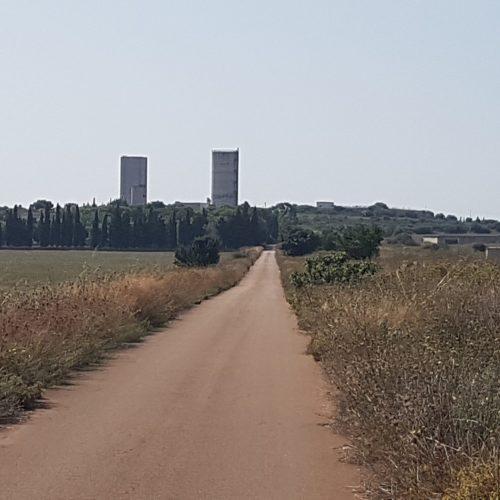 La pista dell'Arneo vicino Avetrana