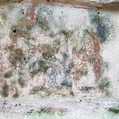 L'affresco nella Cripta Madonna dell'Attarico