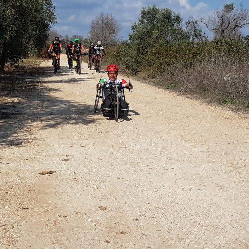 In bici sulla Via del Garofano