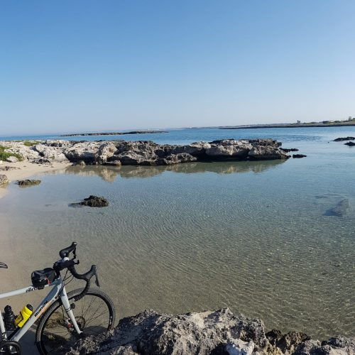 La spiaggia del Frascone