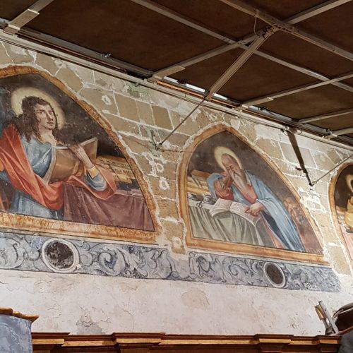 L'interno della Chiesa della Purità