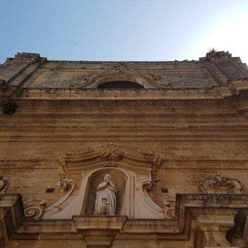 La Chiesa della Beata Vergine Maria a Tricase