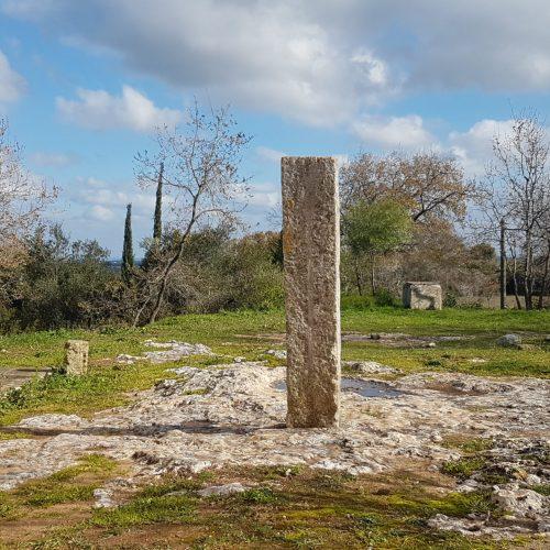 Il menhir di Montevergine