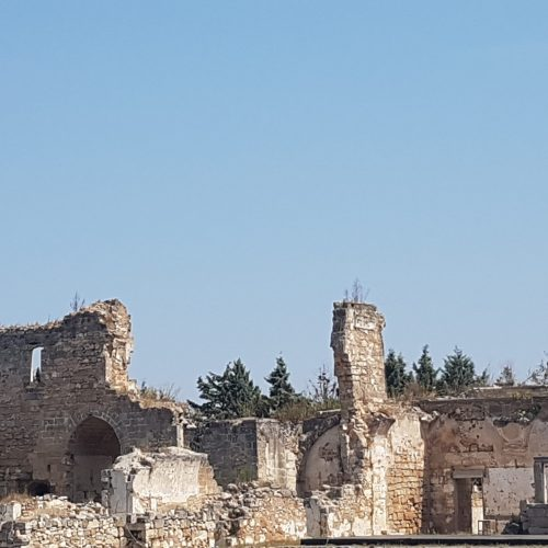 I ruderi del convento di Casole
