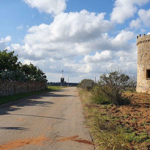 La torre colombaia vicino Masseria Provenzani