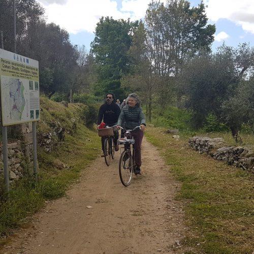 In bici nella Valle dell'Idro